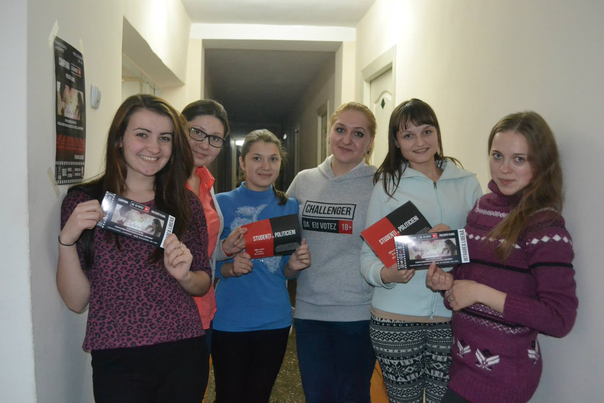 Echipa Challenger a distribuit studenților din 5 cămine studențești din Chișinău